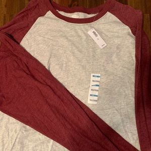 3 Old Navy men's baseball shirts